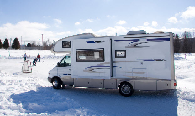 Take Your Family on an RV Trip this Winter
