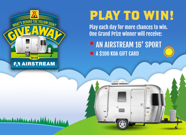 Enter the Airstream RV Giveaway